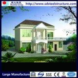 쉬운 현대 디자인 강철 구조물 집을 조립하십시오