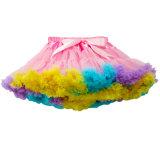 Faldas de las muchachas del Bowknot de los colores para la ropa del verano de los niños