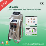 E6 Nd YAG Laser 2 van Super Effective IPL in 1 e-Light Hair Removal Machine