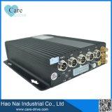 Harde schijf 4CH 720p 4G WiFi GPS van Mdvr/4 Steunen van de Auto DVR van de Camera 3G