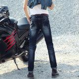 Form-Qualität gebrochene waschende Mann-Jeans mit speziellem Entwurf (HDMJ0009-17)