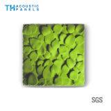 Painel de parede 3D decorativo da fibra de poliéster do painel acústico da prova da água para o cinema