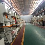 Marca famosa Jh21-160 Ton C Frame única máquina de Prensas mecânicas do Virabrequim