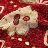 ポリエステル家具製造販売業によって染められるホーム織物のクッションによって編まれるソファーファブリック