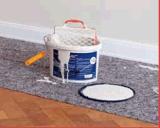 Tapete de aterramento de proteção do piso decorativos Ferramenta pintor