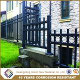 Nouveau style décoratif clôture en aluminium/des rails en aluminium pour le jardin de clôture