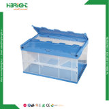 Dobrável de plástico empilháveis vegetais Logística Recipiente de Armazenamento em movimento