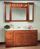 현대 단단한 나무 목욕탕 내각 허영 (W-008)