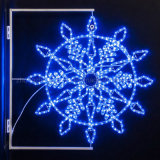 Round 3wire 3600LED RGB LED de luz de la cuerda