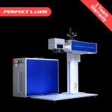 Marcatura del laser della fibra/macchina per incidere da tavolino 20W per la tastiera/tastiera/telefono mobile