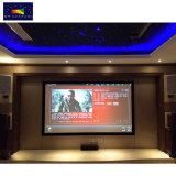 "Xyscreen HK80cシリーズ135 ""ホームシアター穴があいたプロジェクタースクリーンの固定わくの映画館スクリーン"