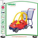 Chariot de supermarché enfants Shopping avec poussette de bébé