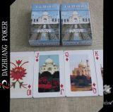 Cartões de jogo superiores da qualidade de Taj Mahal