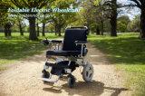Sillón de ruedas plegable sin cepillo portable ligero de la potencia con la mejor batería LiFePO4