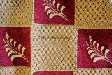 Padrão de grãos 2016 tecidos de froco tecido Jacquard concebido pelo designer chinês