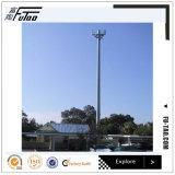 30 m de la torre monopolo camuflado de Telecom