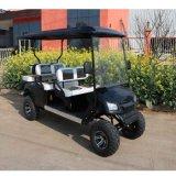 전기 골프 차 또는 손수레 또는 2 륜 마차 의 관광 차