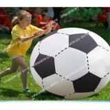 giocattoli gonfiabili giganti per i bambini, giocattoli esterni di gioco del calcio di 100cm-200cm della spiaggia per gli adulti, giochi di calcio dell'iarda dei bambini