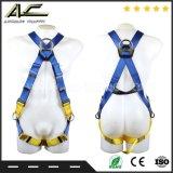Type guidé ligne flexible d'Anchorage de parafoudre d'automne harnais de sûreté avec Carabiner