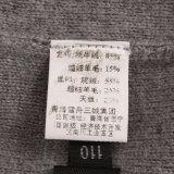 31144 de los hombres de Yak y mezcla de lana suéter tejido