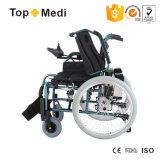 새로운 의학 제품 페이지 관제사에 의하여 무능하게 하는 접히는 힘 전자 휠체어
