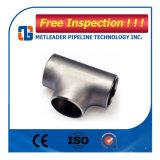 Consegna sul T uguale degli accessori per tubi dell'acciaio inossidabile di tempo