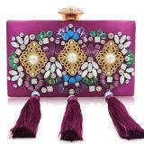 Soirée dame femme sac sacs d'embrayage sac à main en acrylique Mesdames Rhinestone Sac de luxe Leb932