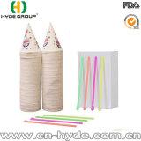 Food Grade desechables vasos de cono de papel personalizado