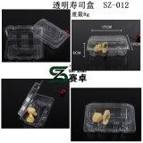 Sz-012 Dozen van het Dessert van containers de In het groot Duidelijke Plastic