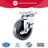 Schwenker-Bremsen-leitendes Fußrolle Performa Rad