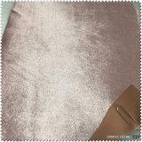Tissu de tissu de Pleuche pour les chaussures ou le vêtement