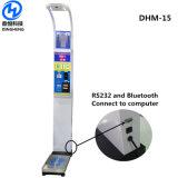 Dhm-15 Coin Distributeurs automatiques de l'échelle de la hauteur du corps et de la pesée des machines