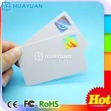 Cartão plástico do holograma da impressão do logotipo da manufatura de China