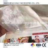 Não Tecidos de algodão 100% descartáveis toalhetes secos, tecido facial para remoção de maquilhagem