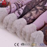 Задняя сторона 100% Micromink печатание полиэфира Blanket Sherpa
