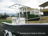 Bateau de pêche de fibre de verre de bateau de Panga de Liya 19feet à vendre