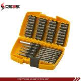 Элемент установлен бит Screwdriving в тяжелых случаях 45 ПК с плоским лезвием разрядных комплектов