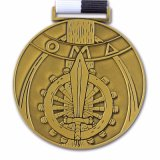 Het Medaillon van Fallscreek van de Legering van het Zink van de Douane van de hoogste Kwaliteit