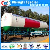輸送ASME標準3axle LPGタンクトレーラーのプロパンのタンカーのトレーラーの販売のための液体のタンカーのトレーラーLPGのガスタンクのトレーラーLPGのトレーラーのPpropaneタンクトレーラー