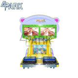 商業子供の硬貨によって作動させる幸せなジャンプのビデオゲーム機械