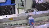 CNC 3 оси стойки Магазин фрезерный станок для алюминиевых деталей из стали