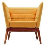 Encosto alto mobiliário moderno públicos de lazer de tecido Sofá