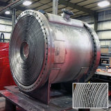 Gewundenes Wärmeübertragung-Gerät für das Stahlwalzen-Aufbereiten