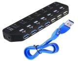 USB 3.0 허브 4 포트 USB 2.0 Hub+ 3 포트 USB 3.0 허브