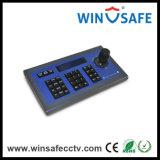 regulador de Keybaord de la cámara del regulador RS485 PTZ de la palanca de mando 4D