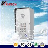 Telefone do interfone da voz de Bell de porta Knzd-43 com tecla iluminada