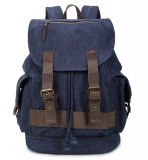 High Quality Servant boy Canvas Backpack Washed Heavy Canvas Girl Satchel Bag (RS-PTB666A)