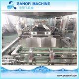 remplissage de bouteilles de l'eau de 5 gallons 300bph et machine à emballer automatiques
