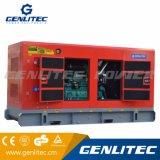 Gerador Diesel silencioso super da potência de Genlitec (GPC200S) 200kVA Cummins com ATS