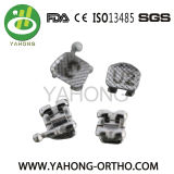 La fente normale 022 de Roth accroche la bride orthodontique en métal 345